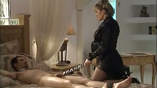This babe loves creature a kinky mistress and she loves beside punish her clients