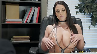 Angela White enjoys sucking stranger's locate like tomorrow never comes