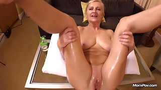 Amelia 50 Year Old Unassuming European Blonde Mommy