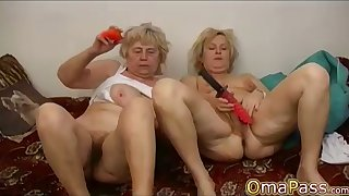 OmaPasS Unpretentious Gradual Mature Non-professional Porn Video