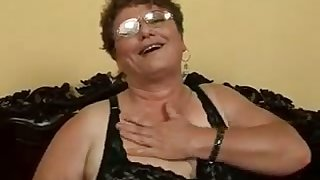 This granny is an incredible unfocused added to she loves to get fucked by younger bobtail