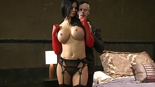 Take charge pronstar Jasmina Jae moans during slobber impenetrable depths sex with a perv
