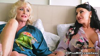 On every side Bed With Leah L'amour And Rita Daniels - Leah L'amour And Rita Daniels - 60PlusMilfs